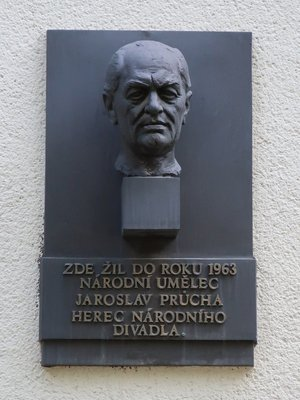 Jaroslav Průcha, Londýnská čp. 672/20, Vinohrady