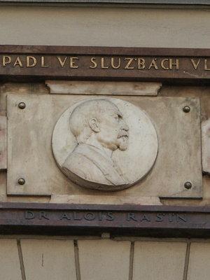 Alois Rašín a Ladislav Rašín, Žitná 562/10, Nové Město