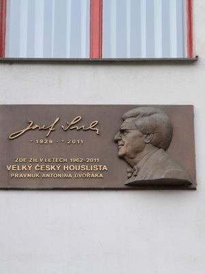 Josef Suk ml., Karlovo náměstí čp. 317/5, Nové Město (autor fotografie: Milan Polák)