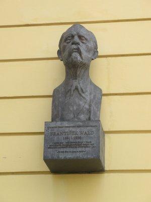 František Wald, Na Smetance čp. 1073/2, Vinohrady