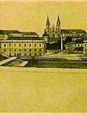 Bohumil Hypšman, návrh regulace okolí Emauz, 1913–1916