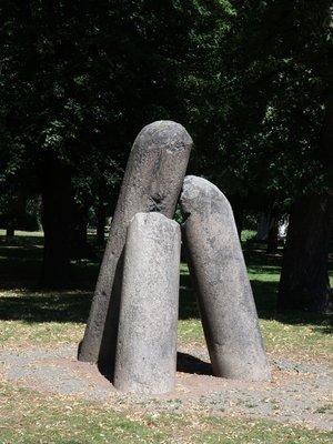 Čertův sloup, Karlachovy sady, Vyšehrad
