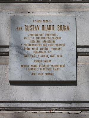Gustav Hladil - Sojka, Mánesova čp. 1612/79, Vinohrady