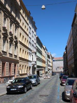 Lublaňská (Nové Město, Vinohrady) (autor fotografie: Milan Polák)