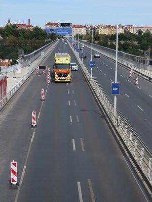Nuselský most (Nové Město, Nusle) (autor fotografie: Milan Polák)