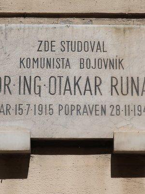 Otakar Runa, Jenštejnská čp. 1966/1, Nové Město