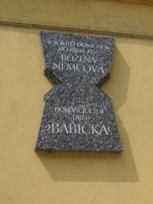 Deska B. Němcové