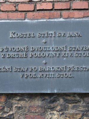 Kostel Stětí sv. Jana Křtitele (autor fotografie: Milan Polák)