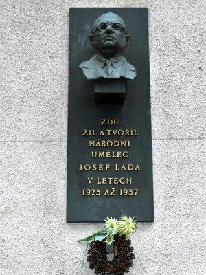 Josef Lada (autor fotografie: Milan Polák)