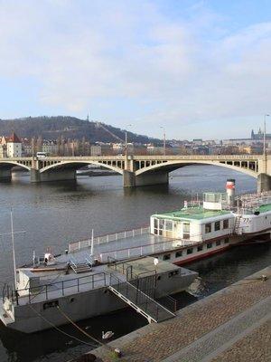 Jiráskův most (Nové Město, Smíchov) (autor fotografie: Milan Polák)