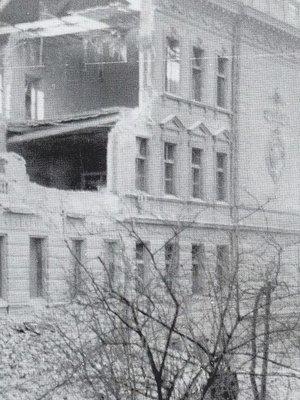 Budova školy, Vinohradská 920/54, po náletu