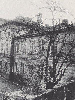Svatováclavské lázně před zbořením