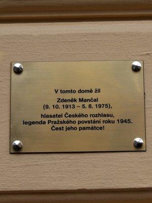 Zdeněk Mančal, Mánesova 45