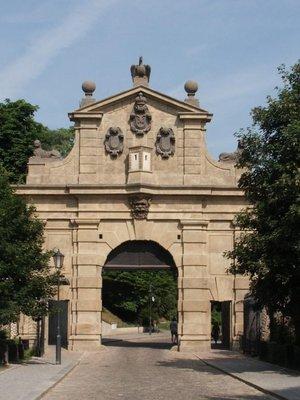 Leopolodova brána (autor fotografie: Milan Polák)