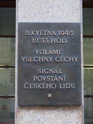 Boj o rozhlas 1945