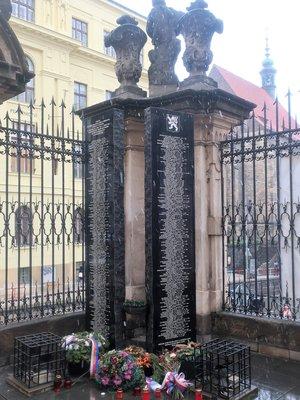 Pomník Obětem 2. sv. války