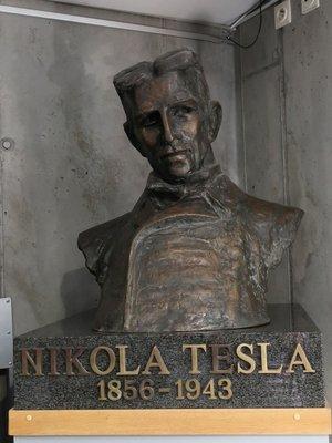 Nikola Tesla (autor fotografie: Milan Polák)