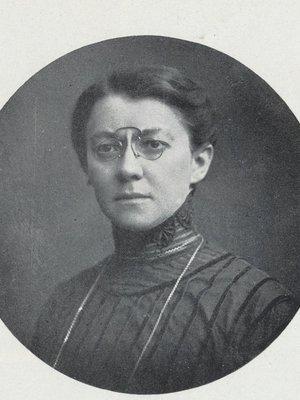 Anna Honzáková (autor fotografie: Česká svět 1912)