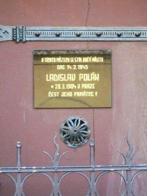 Ladislav Polák, deska