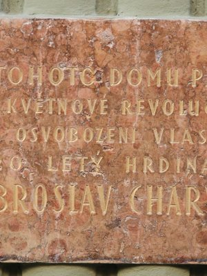 Deska Dobroslava Charváta