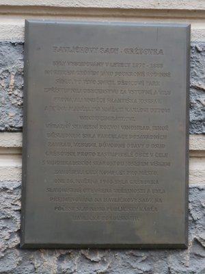 Deska u Dolní Landhausky