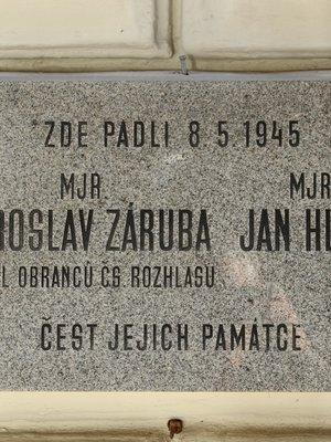 Jan Hlava, Jar. Záruba