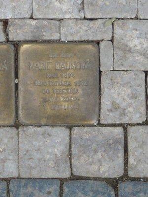 Kámen zmizelých, M. Baumová (autor fotografie: Dagmar Broncová)