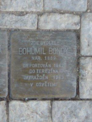 Kámen zmizelých Bohumila Bondyho