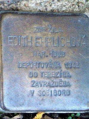 Kámen zmizelých Edith Ehrlichové