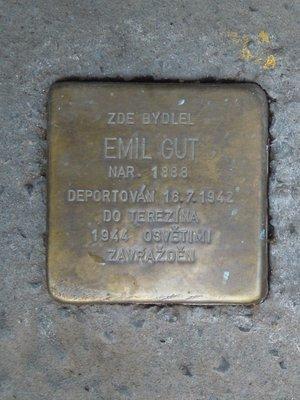 Kámen zmizelých, Emil Gut (autor fotografie: Dagmar Broncová)