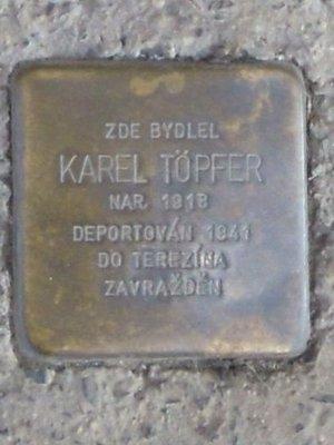 Kámen zmizelých, Karel Töpfer