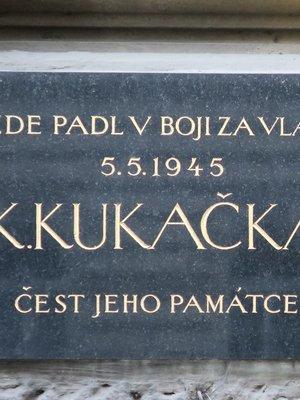 Deska K. Kukačky (autor fotografie: Milan Polák)
