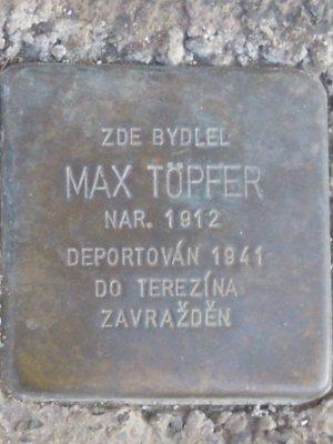 Kámen zmizelých, Max Töpfer (autor fotografie: Dagmar Broncová)