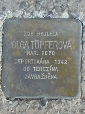 Kámen zmizelých, OlgaTöpferová (autor fotografie: Dagmar Broncová)
