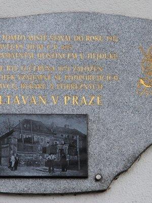 PD založení spolku Vltavan (foto Milan Polák,2020)