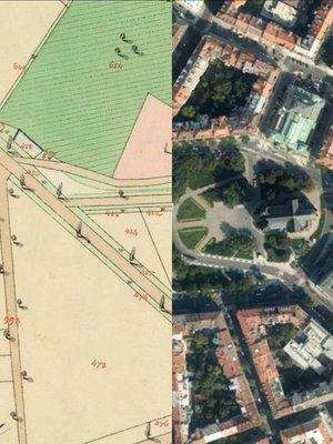 náměstí Míru, proměny