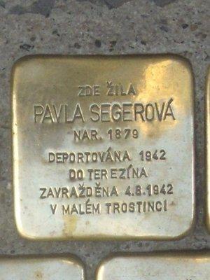 Kámern Pavly Segerové (foto D. Broncová)