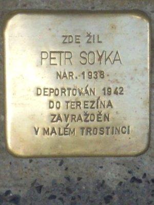Kámen zmizelých, Petr Tomáš Soyka (foto D. Broncová)