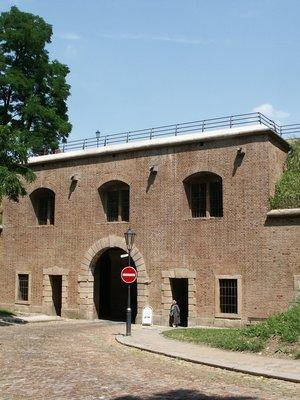 Jižní strana Nové brány (Foto M. Polák, 2003)