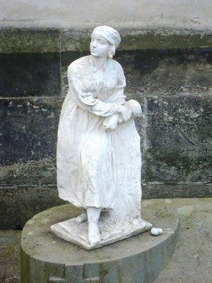 Sochařka od Karly Vobišové-Žákové (foto D. Broncová)