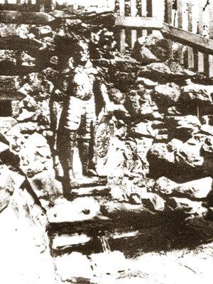 Studánka bývá nejčastěji zobrazena se sochou knížete Václava. Archiv