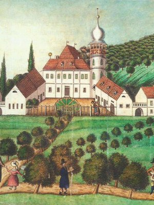 Usedlost kolem roku 1830 (archiv)