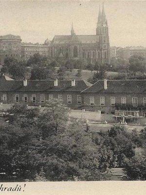 Eichmanka na dobové pohlednici