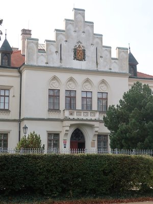 Nové děkanství (Foto M. Polák, říjen 2020)