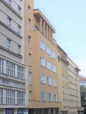 Palác Continental, foto P. Líbal