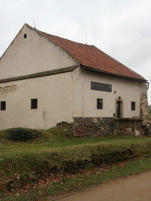 Galerie Vyšehrad v prosinci 2020. (Foto M. Polák)
