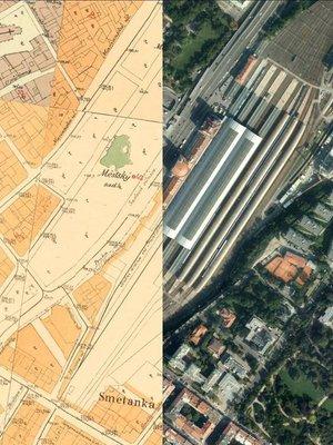 Hlavní nádraží - mapy