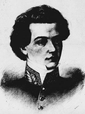 Josef Slavík, Zdroj: wikipedie, autor Jan Vilímek, 1888