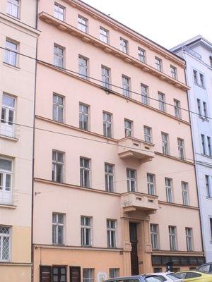 Dům Škrétova 4. Foto P. Líbal