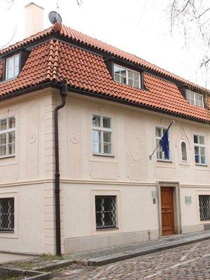 Dům U Charvátů (Foto M. Polák, duben 2021)